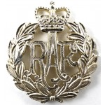Royal Air Force E11R Anodised Aluminium Cap Badge