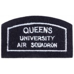 Queens University Air Squadron Belfast Cloth Arm Badge