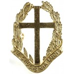 RAF Chaplains Assistant Officers Gilt Cap Badge