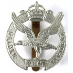 Glider Pilot Pre 1953 White Metal Cap Badge