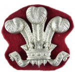 Wiltshire Yeomanry Nco`s White Metal Arm Badge 54mm