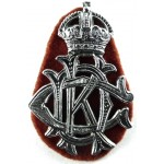 1st Kings Dragoon Guards NCo`s Chrome Arm Badge