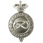 Staffordshire Yeomanry Victorian White Metal NCo`s Arm Badge