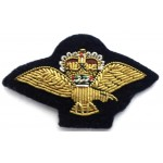 Royal Air Force Band Bullion Wire Mess Dress Collar Badge