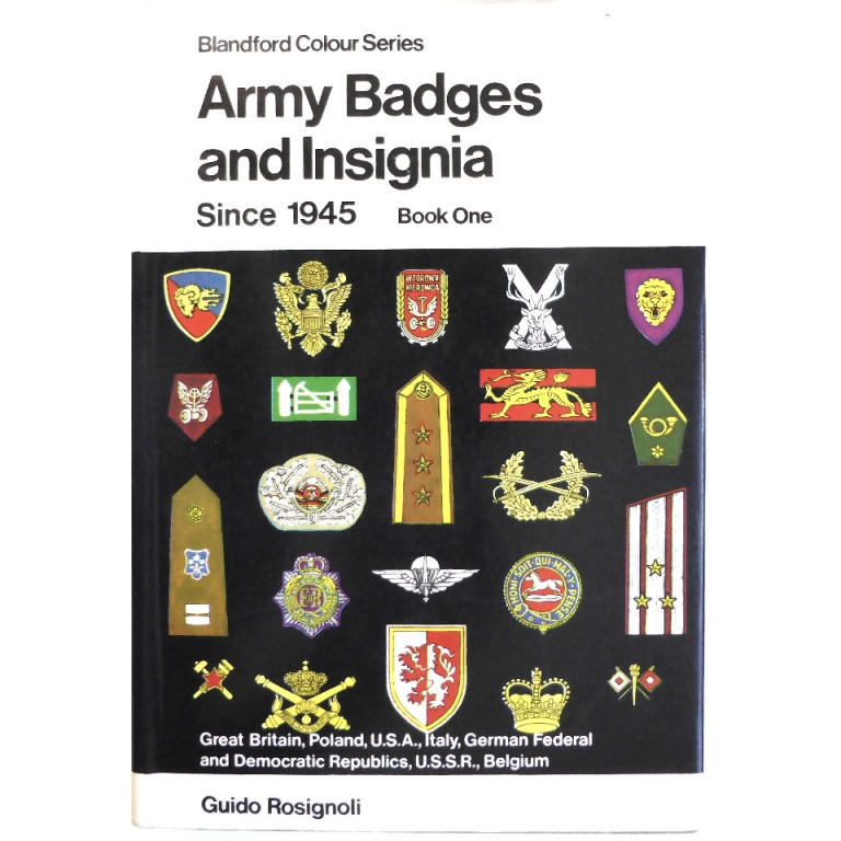 Army Badges And Insignia Since 1945 Book One