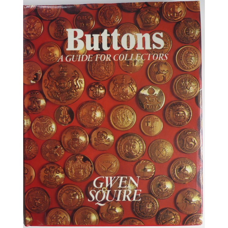 Buttons A Guide For Collectors Gwen Squire