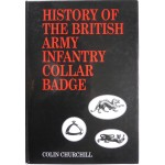 British Army Infantry Collar Badges Churchill