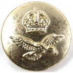 Royal Air Force KC Anodised Button 23.5mm