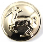 Veterinary Corps Anodised Button 26mm