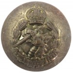 Royal Army Dental Corps KC Brass Button 25mm