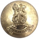 Royal Army Pay Corps Officers Brass Button 26mm