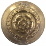 Royal Fusiliers Officers Brass Button 25mm