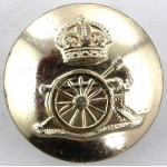 Royat Artillery KC Anodised Button 23mm
