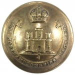 The Northamptonshire Regt. Officers Brass Button 26mm