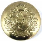 Queens Own Worcestershire Hussars Button 26mm