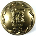 The Gloucestershire Regt. Officers Large Brass Button 26mm