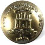 The Dorsetshire Regt.Or`s Large Brass Button 25.7mm