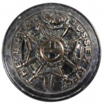 Royal Sussex Regt. Large Officers Plated Button 25mm