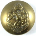 The Royal Army Dental Corps Officers Large Brass Button 25mm