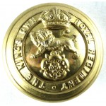 The Kings Own Royal Regiment Large Brass Button 25mm