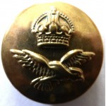 Royal Air Force Brass Button 18mm