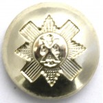 Black Watch Royal Highlanders Or`s Anodised Aluminium Button 19mm