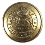 Royal Berkshire Regiment Officers Large Brass Button 25mm
