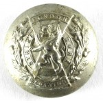 London Scottish Or`s Large White Metal Button 26mm