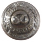North Staffordshire Regt. Officers Small Bronze Button 19.2mm