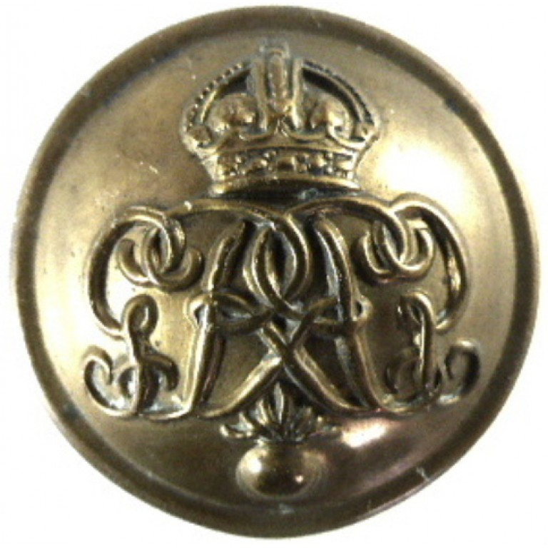 Grenadier Guards Or`s Large Brass Button 26mm