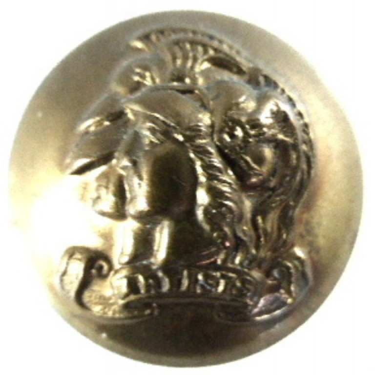 Artists Rifles Or`s Large Brass Button 25mm