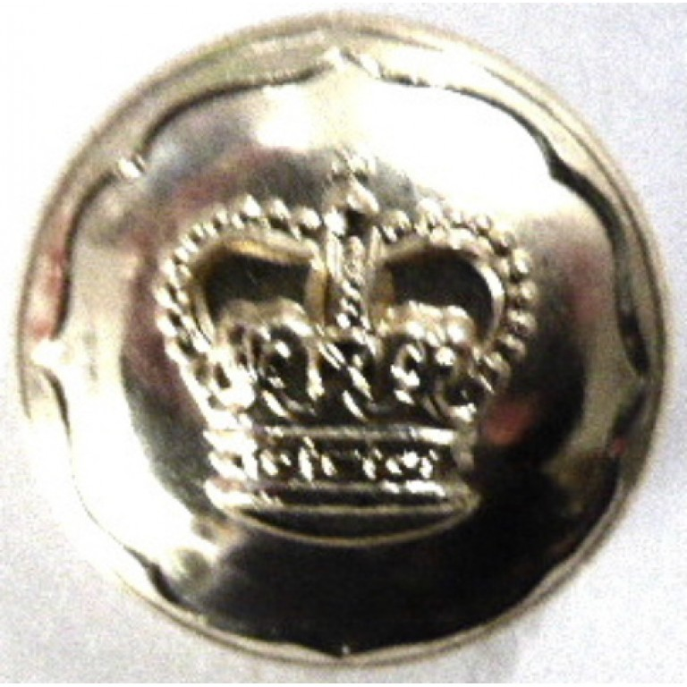 Ayrshire Yeomanry Or`s Anodised Aluminium Button 19 mm