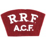 Royal Regiment Of Fusiliers ACF Shoulder Title
