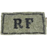 Royal Fusiliers Slip On Cloth Shoulder Title