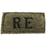 Royal Engineers Cloth Slip On Title