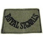 Royal Signals Cloth Slip On Title