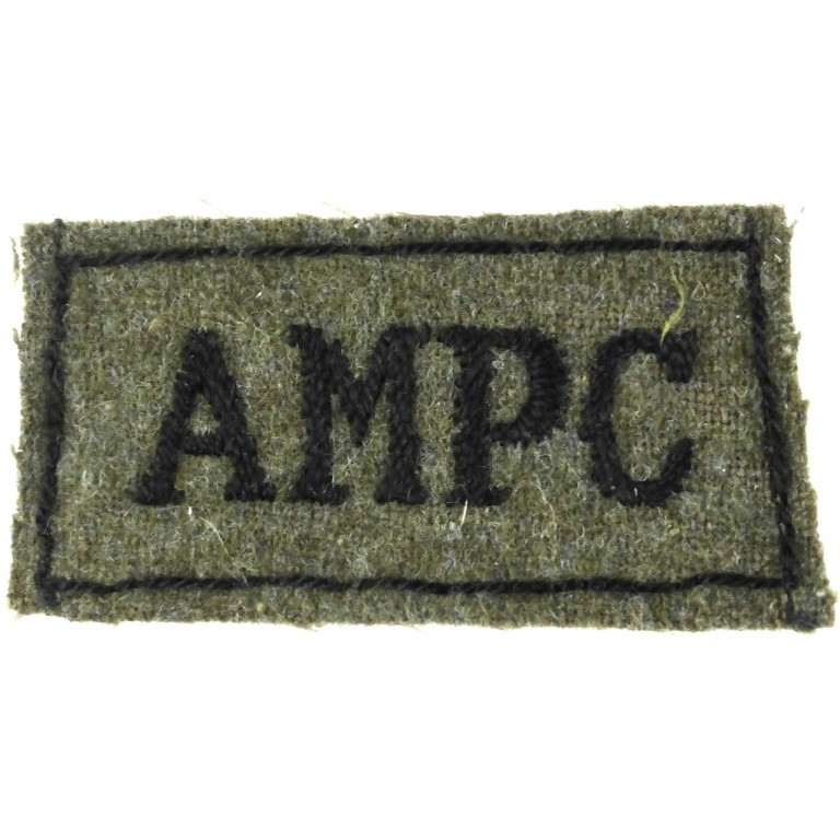 Auxiliary Military Pioneer Corps Slip On Title