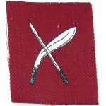 18th Infantry Brigade Cloth Badge