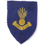 27th Engineering Group Royal Endineers Cloth Formation Sign