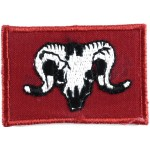 1st Artillery Brigade 1st Patt.Cloth Formation Badge
