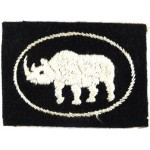 1st Armoured Division Cloth Formation Sign