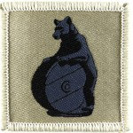 10th Signals Regiment Cloth Formation Badge