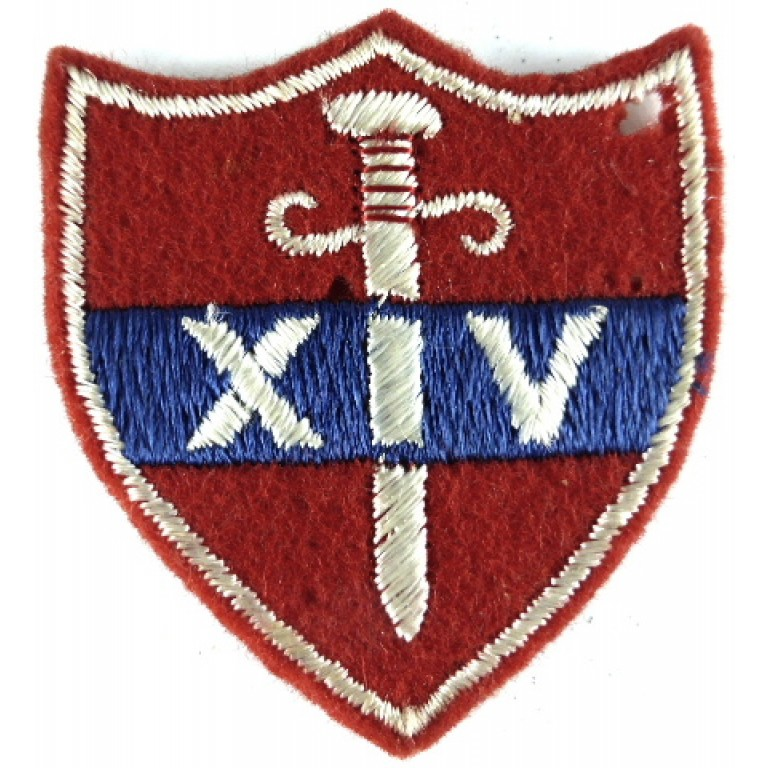 14th Army Cloth Formation Badge