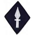 1st Corps Royal Signals Cloth Formation Badge