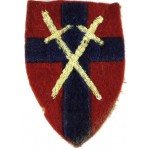 21st Army Group Cloth Formation Badge