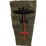 1st Anti-aircraft Division 1st Pattern Cloth Formation Badge