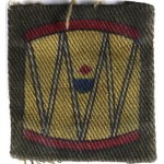 45th Infantry Division Printed Cloth Formation Sign