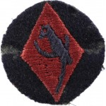 48th South Midland  Infantry Division Cloth Formation Sign