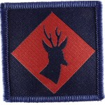 145th Home Counties Brigade Cloth Formation Sign