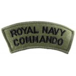 Royal Navy Commando Shoulder Title Subdued